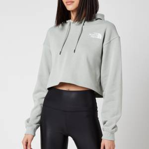 The North Face Women's Trend Cropped Drop Hoodie - Wrought Iron
