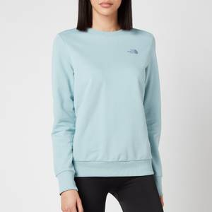The North Face Women's P.U.D Logo Crew Neck Sweatshirt - Tourmaline Blue