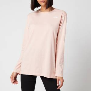 The North Face Women's Simple Dome Long Sleeve T-Shirt - Evening Sand Pink