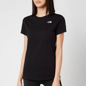 The North Face Women's Simple Dome Short Sleeve T-Shirt - TNF Black