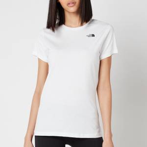 The North Face Women's Simple Dome Short Sleeve T-Shirt - TNF White