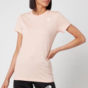 The North Face Women's Simple Dome Short Sleeve T-Shirt - Evening Sand Pink