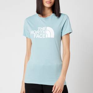 The North Face Women's Easy Short Sleeve T-Shirt - Tourmaline Blue