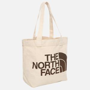 The North Face Basic Cotton Tote Bag - White/Brown