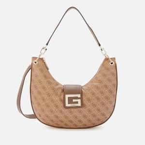 Guess Women's Brightside Hobo Bag - Latte