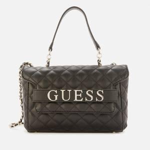 Guess Women's Illy Convertible Cross Body Bag - Black