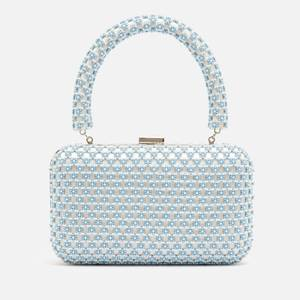 Shrimps Women's Ludwig Beaded Bag - Cream & Blue