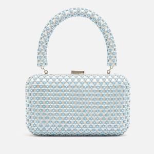 Shrimps Women's Ludwig Beaded Bag - Cream & Blue