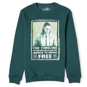 Marvel Loki Timeline Unisex Sweatshirt - Forest Green