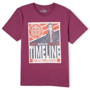 Marvel Timeline Men's T-Shirt - Burgundy