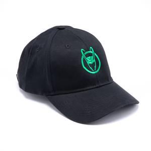 Marvel Loki Logo Baseball Cap - Black
