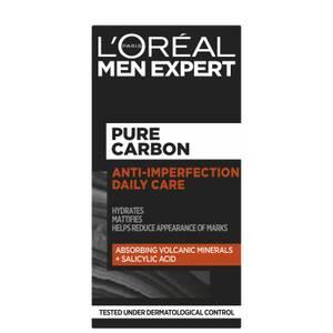 L'Oréal Paris Men Expert Pure Carbon Anti-Spot Exfoliating Daily Face Cream 50ml