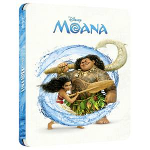 Vaiana, la légende du bout du monde - Disney Steelbook 4K Ultra HD - Exclusivité Zavvi (Blu-ray Inclut)