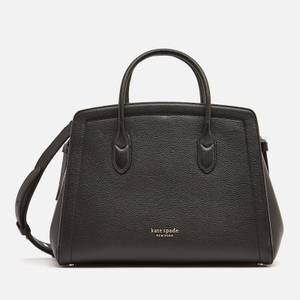 Kate Spade New York Women's Knott Large Satchel Bag - Black