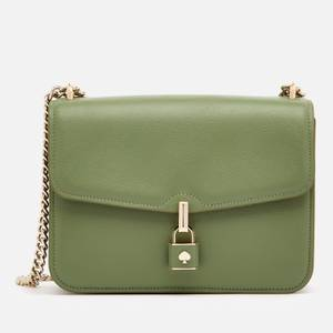 Kate Spade New York Women's Locket Large Flap Shoulder Bag - Romaine
