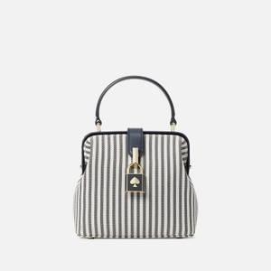 Kate Spade New York Women's Remedy Stripe Small Top Handle Bag - Blazer Blue Multi