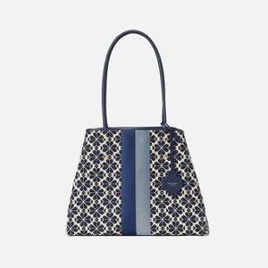 Kate Spade New York Women's Everything Spade Jacquard Large Tote Bag - Blue Multi