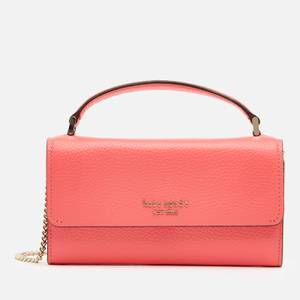 Kate Spade New York Women's Roulette Top Handle Cross Body Bag - Peach Melba