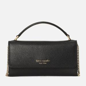 Kate Spade New York Women's Roulette Top Handle Cross Body Bag - Black