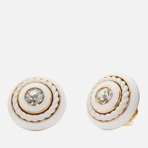 Kate Spade New York Women's Know The Ropes Studs - White