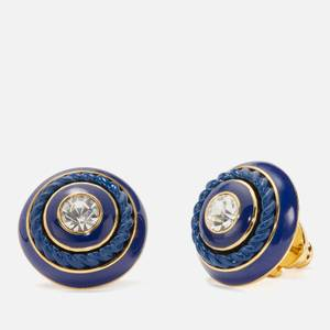 Kate Spade New York Women's Know The Ropes Studs - Blue