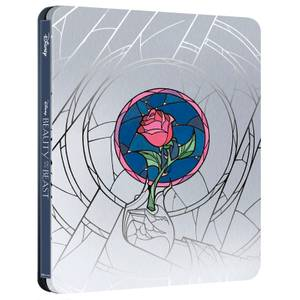 La Belle et La Bête (Dessin Animé) Disney - Steelbook 4K Ultra HD (Blu-ray inclus) - Exclusivité Zavvi