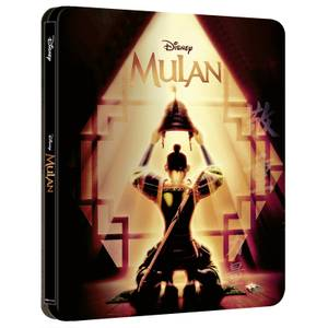 Mulan (Dessin Animé) - Steelbook Disney 4K Ultra HD (Blu-ray Inclus) - Exclusivité Zavvi