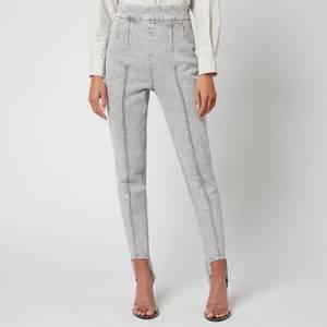 Isabel Marant Women's Nanouli Jeans - Light Grey