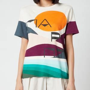 Isabel Marant Women's Zewel T-Shirt - Petrol