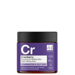 Dr Botanicals Cranberry Superfood Healthy Skin Night Moisturiser 60ml