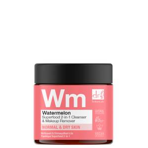 Dr Botanicals Watermelon Superfood 2-in-1 Cleanser and Makeup Remover 60ml