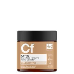 Dr Botanicals Coffee Superfood Renewing Facial Exfoliator 60ml