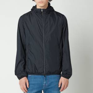 Herno Men's Ultralight Sportswear Zipped Bomber Jacket - Dark Navy