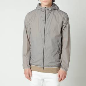 Herno Men's Ultralight Sportswear Zipped Bomber Jacket - Grigio Perla