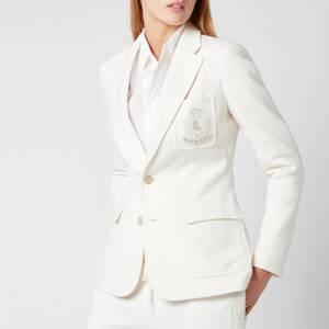 Polo Ralph Lauren Women's Logo Jacket Blazer - Andover Cream