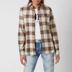 Polo Ralph Lauren Women's Georgia Slim Fit Shirt - Brown/Tan
