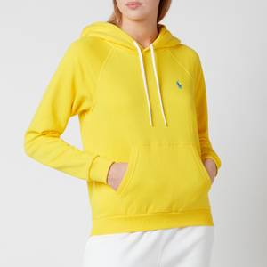Polo Ralph Lauren Women's Logo Hoodie - University Yellow