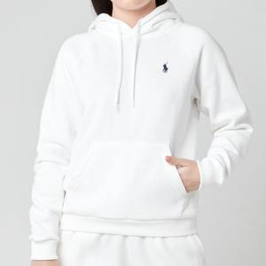 Polo Ralph Lauren Women's Logo Hoodie - White