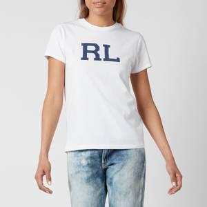 Polo Ralph Lauren Women's Rl Logo T-Shirt - White