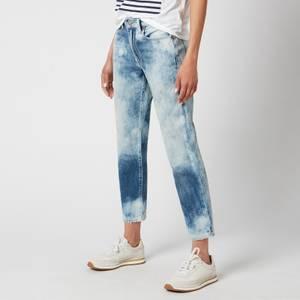 Polo Ralph Lauren Women's Avery Boyfriend Denim Jeans - Bleached Indigo