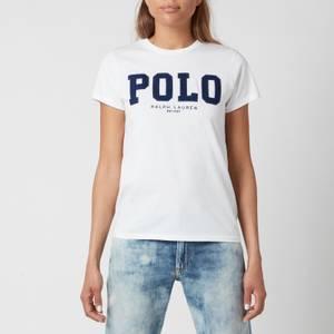 Polo Ralph Lauren Women's Polo Logo T-Shirt - White