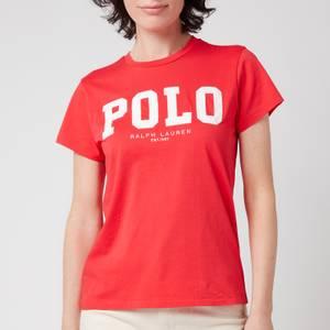 Polo Ralph Lauren Women's Polo Logo T-Shirt - Bright Hibiscus