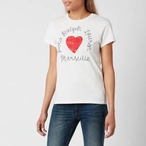 Polo Ralph Lauren Women's Heart T-Shirt - Nevis