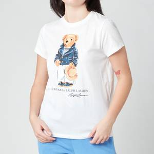 Polo Ralph Lauren Women's Bear T-Shirt - White