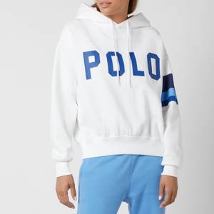 Polo Ralph Lauren Women's Polo Logo Relaxed Hoodie - White