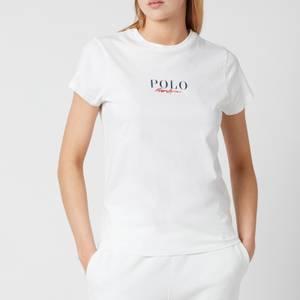 Polo Ralph Lauren Women's Small Logo Polo T-Shirt - White