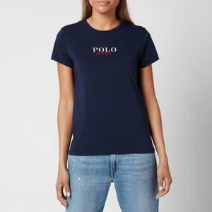 Polo Ralph Lauren Women's Small Logo Polo T-Shirt - Cruise Navy