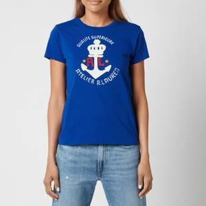 Polo Ralph Lauren Women's Anchor Logo T-Shirt - Heritage Royal