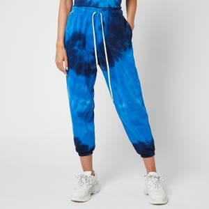 Polo Ralph Lauren Women's Tie Dye Sweatpants - Blue Ocean