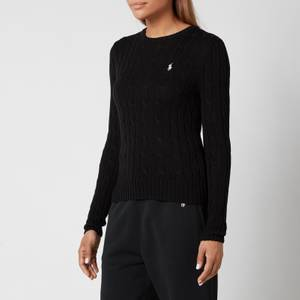 Polo Ralph Lauren Women's Julianna Jumper - Polo Black/White